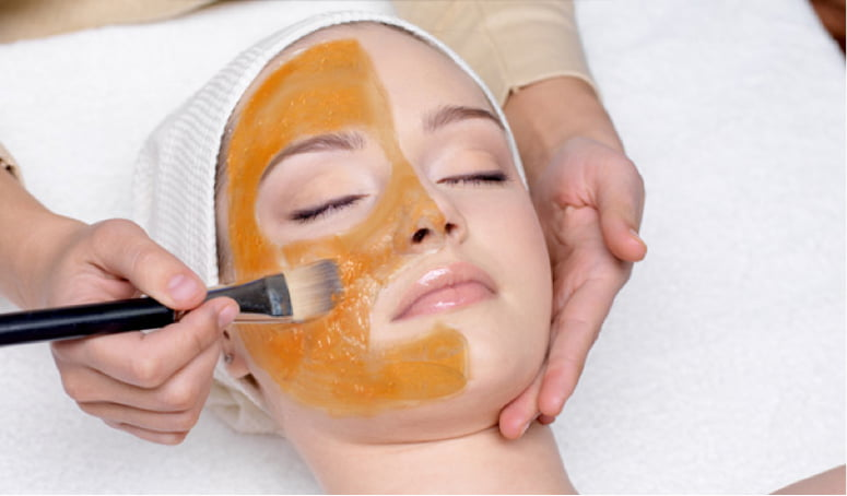 how to make a facial mask with orange peels