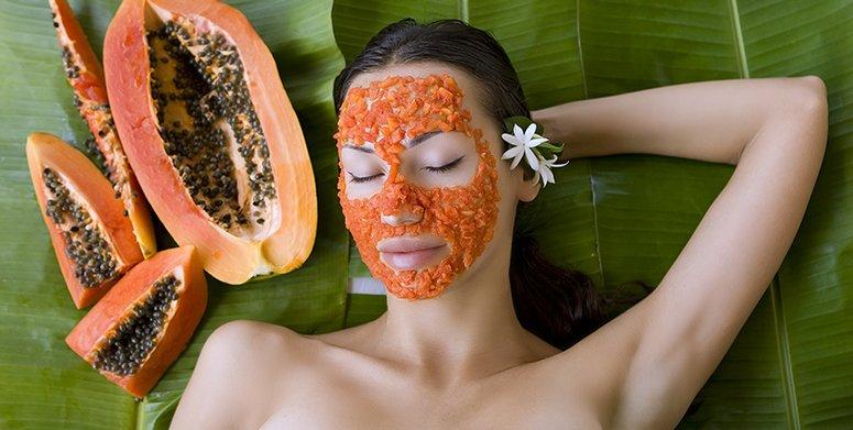 Organic facial peels