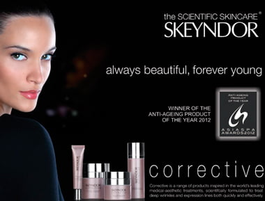 skeyndor-corrective-line-anti-aging-treatments-Toronto